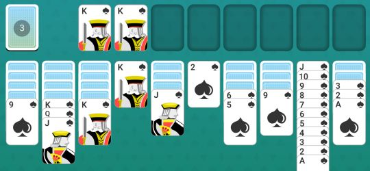 Solitaire Spider Tips
